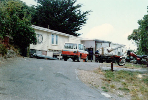 Riggers depot at ZLW c1985.