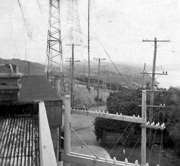 Undated photo showing aerial feeder gantry at ZLW.