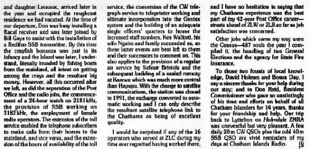 Jack Ryan remembers ZLC 1957-1966, part 8