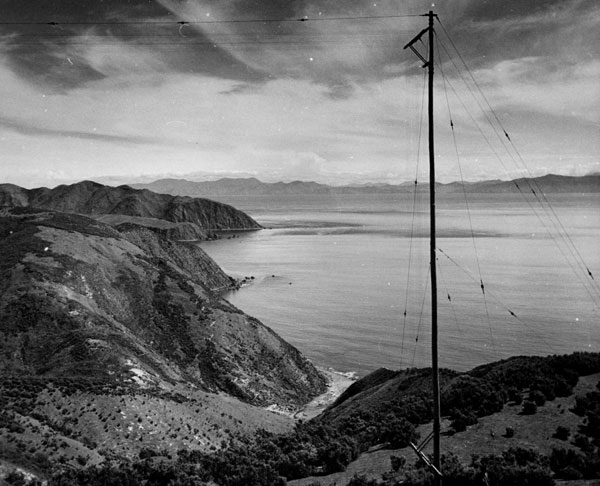 View from Makara Radio. Date unknown.