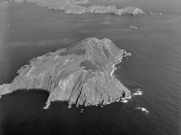Stephens Island, Sept 1958