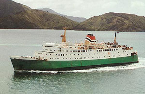 NZ Railways ferry Aratika