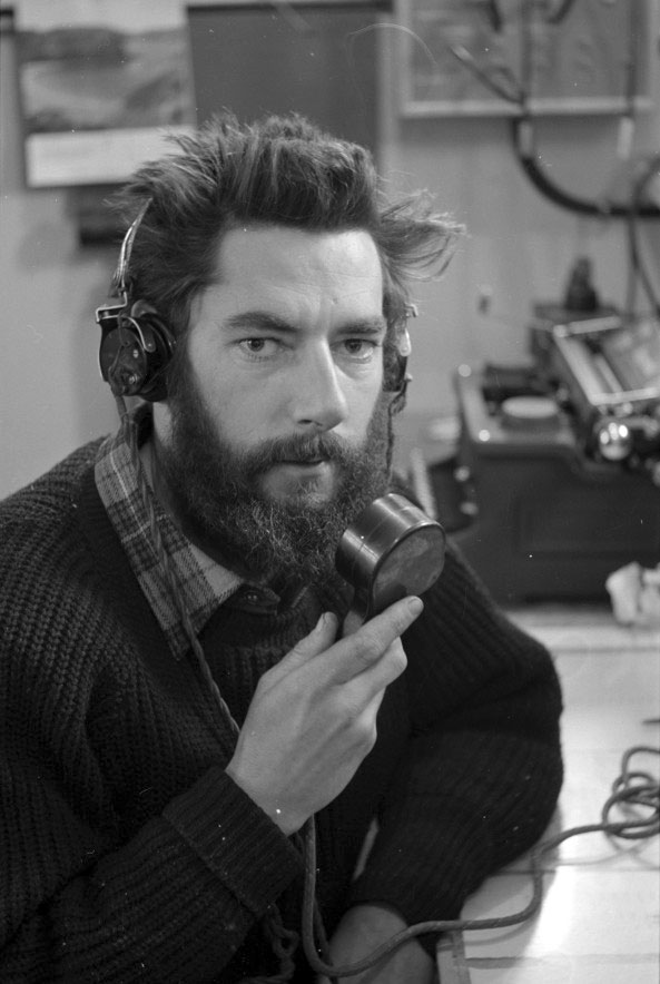 Scott Base radio operator 1962-1963