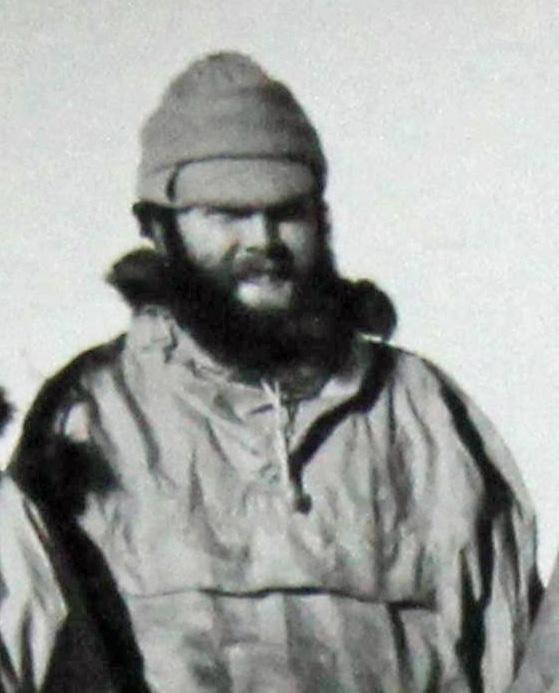 Radio technician Ian Wilton at Scott Base