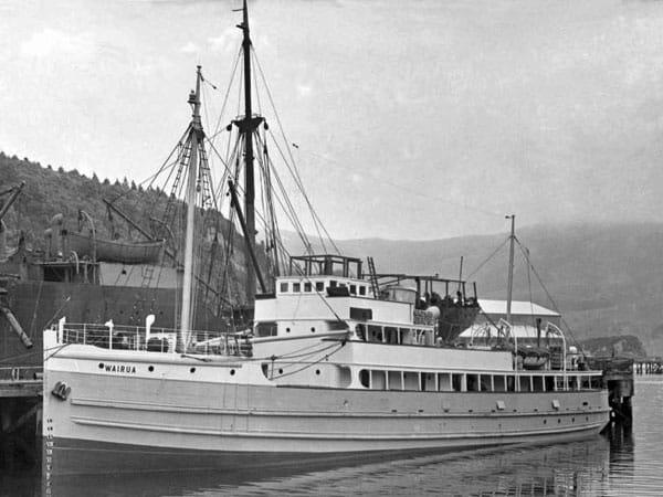 MV Wairua at Stewart Island in 1948