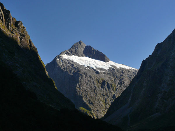 On the road to Milford Sound in 2009