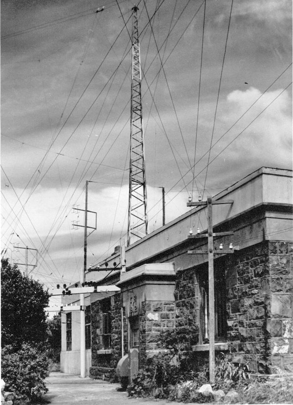 Wellington Radio ZLW in the early 1950s