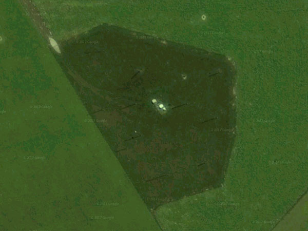 Satellite view of the receiver site for Taupo Radio ZLM