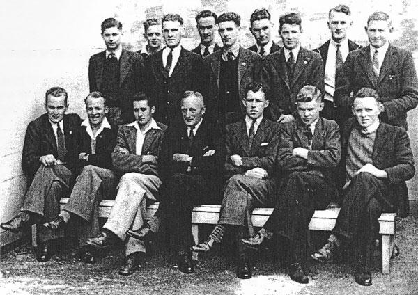 Auckland Radio staff c1950