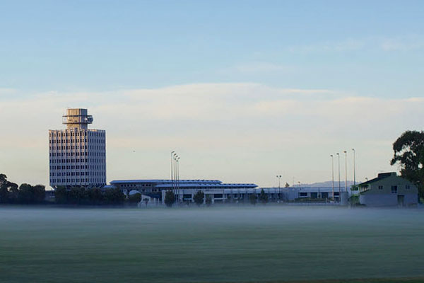 Avalon Studios, headquarters of Taupo Maritime Radio, 25 Dec 2012