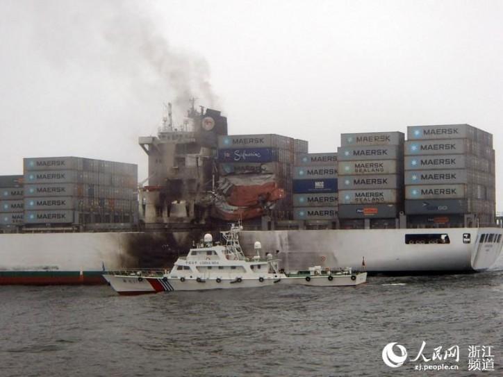safmarine meru collision