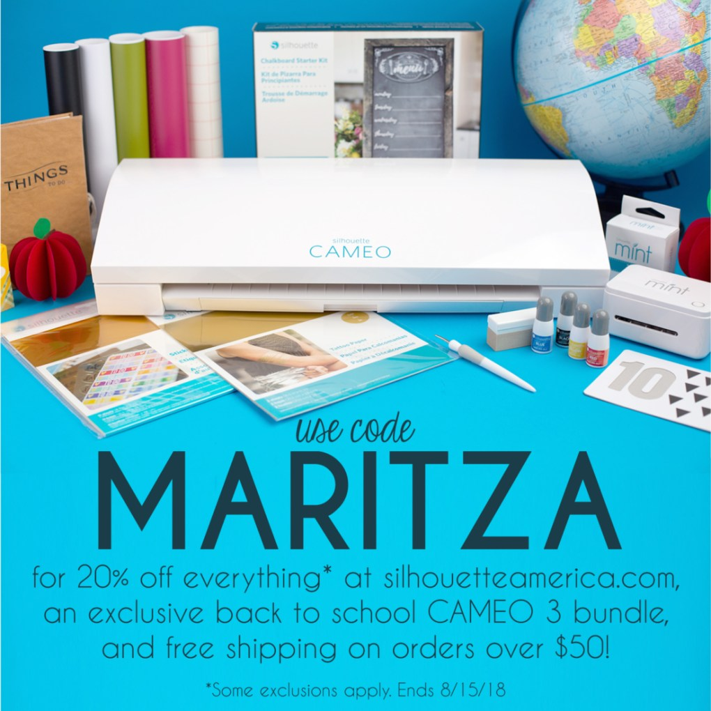 DIY Flash Card Box - Maritza Lisa - #ad Check out these back to school deals at Silhouette America! #kids #backtoschool #silhouettecameo #papercrafts #schoolsupplies