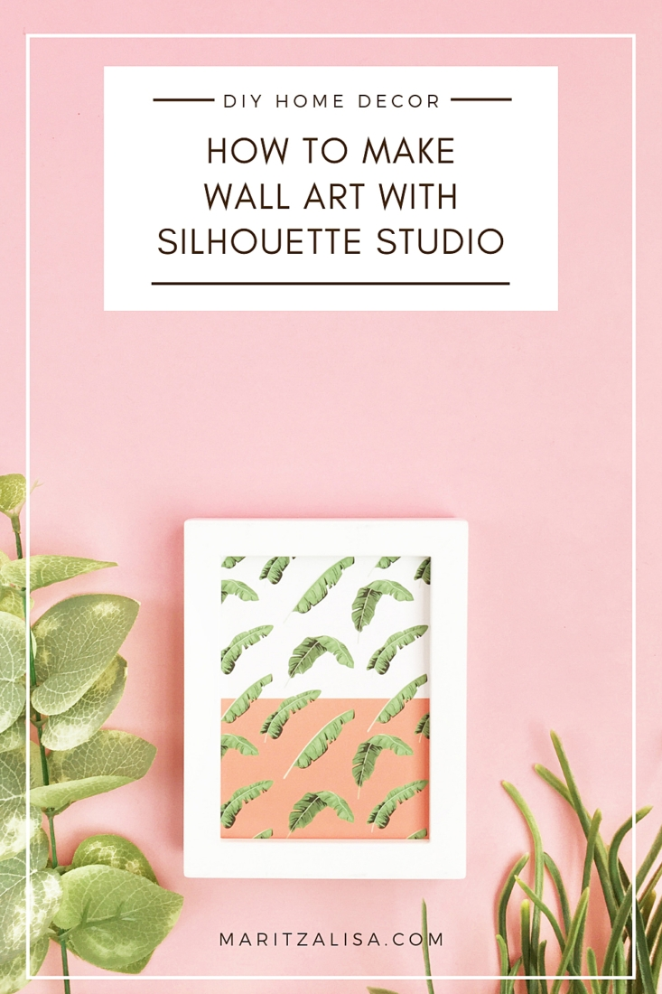 How To Make Wall Art With Silhouette Studio
