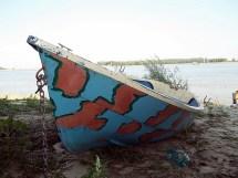 Barca ancorata (Foto Marius Craciun)
