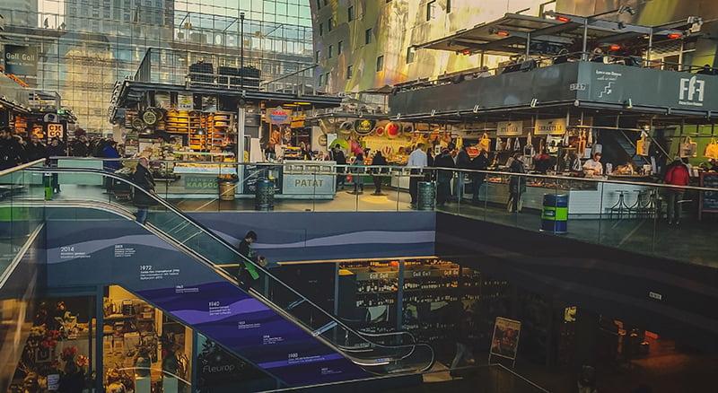Piata Markthal Rotterdam - Olanda