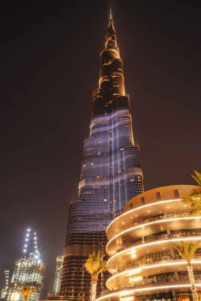 Burj Khalifa - Dubai - Dubai-Fantanile de la Burj Khalifa-foto-video