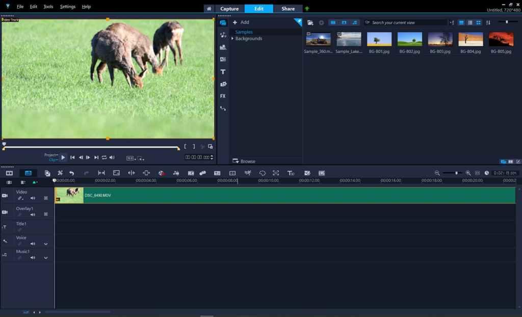 Corel VideoStudio 2021 - video editor