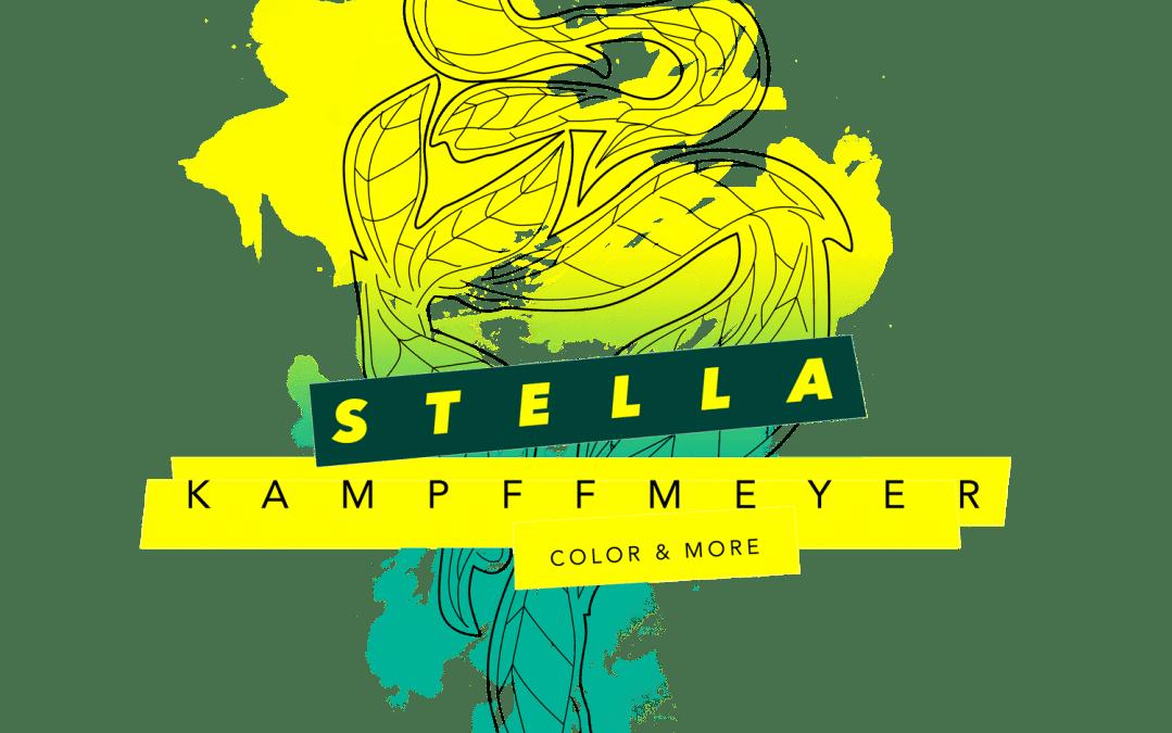 Farbgestaltung Fiktives Logo