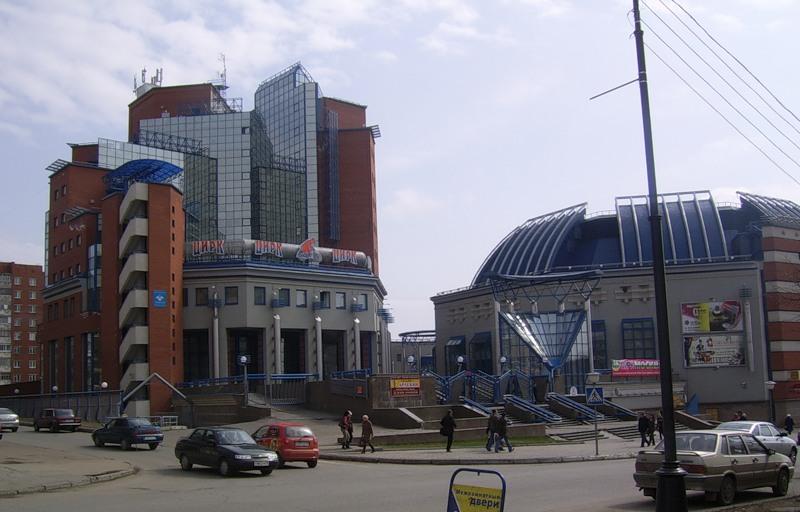 Здание цирка в Ижевске