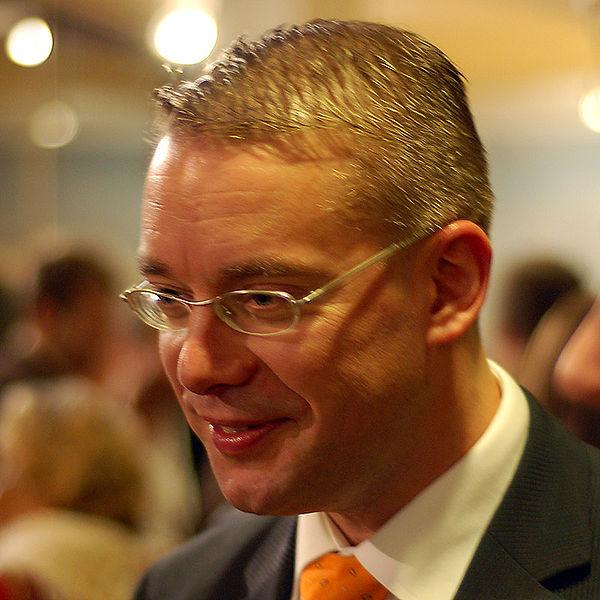 Министр культуры и спорта Финляндии Стефан Валлин (Stefan Wallin)