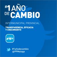 #1añodecambio : @PPMalaga