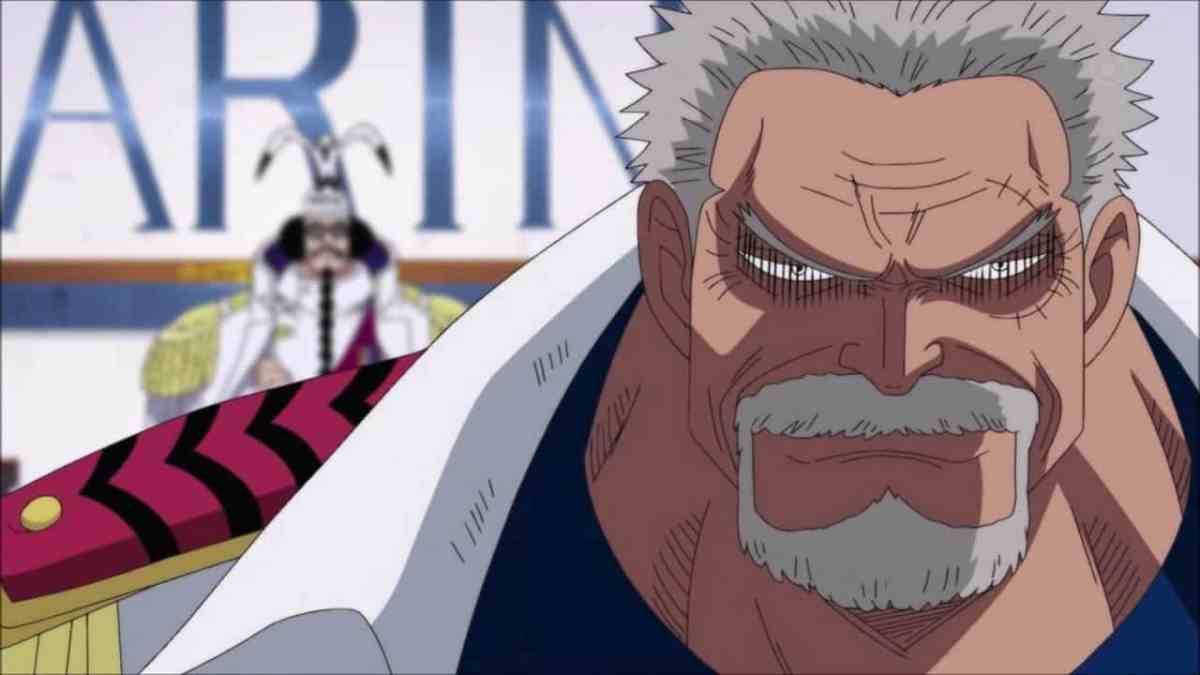 mariviu Monkey-D-garp Karakter One Piece Terkuat