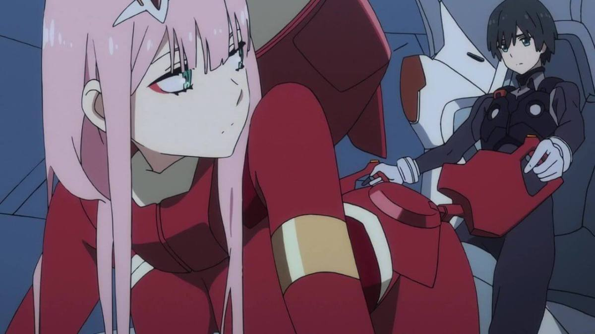review anime darling in the franxx