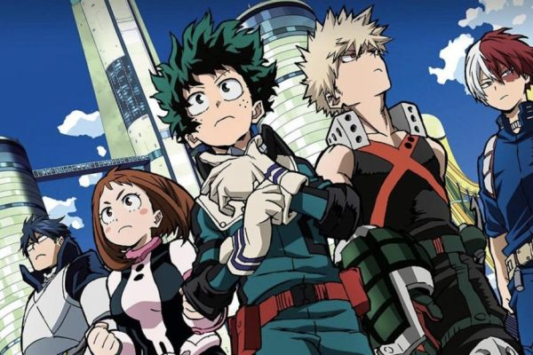 review my hero academia: two heroes movie