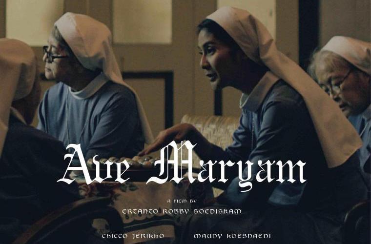 cover Ave Maryam dengan Maudy Kusnaedi