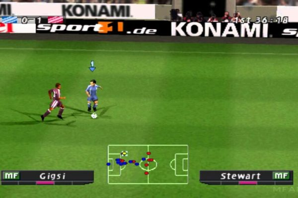 gameplay Winning Eleven 6