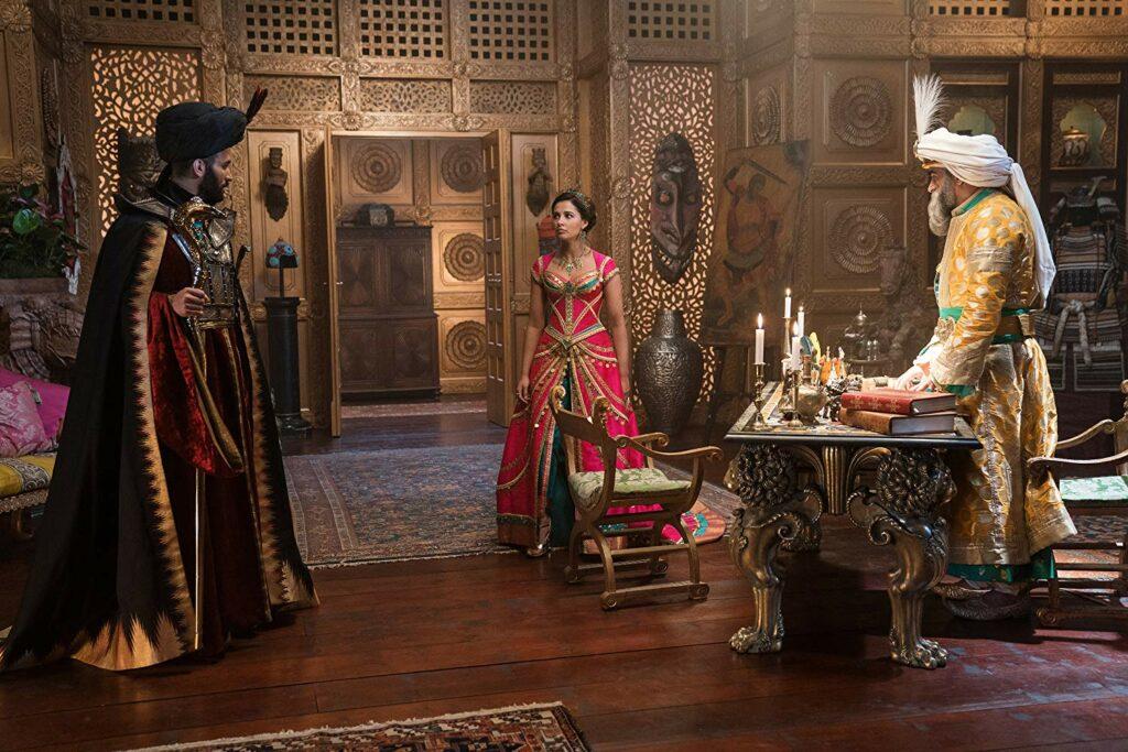 Naomi Scott sebagai Putri Jasmine dalam live action Aladdin 2019