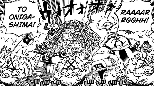 pembahasan one piece chapter 947