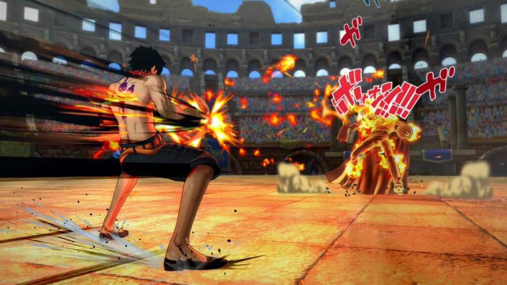 Game Play One Piece Burning Blood