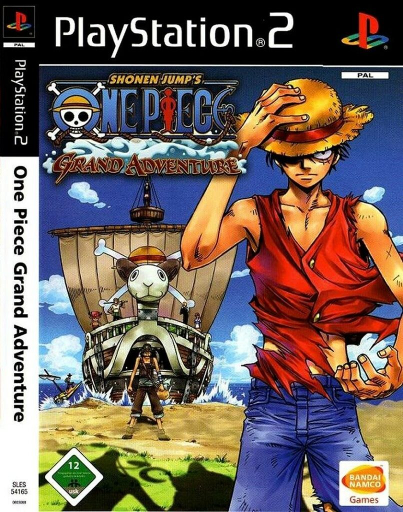 one piece grand adventure Playstation2