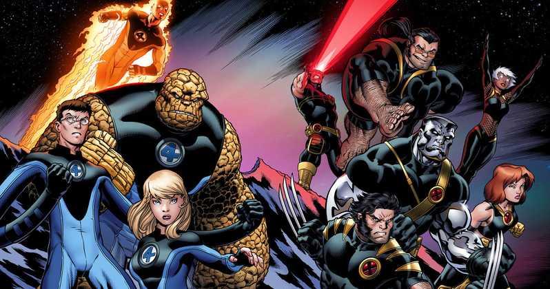 X-Men dan Fantastic Four