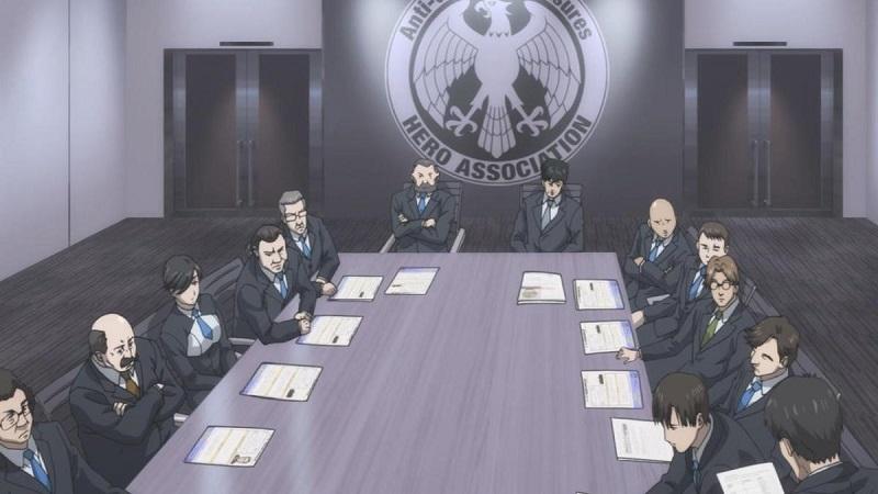 Asosiasi Pahlawan dalam fakta mengenai Saitama