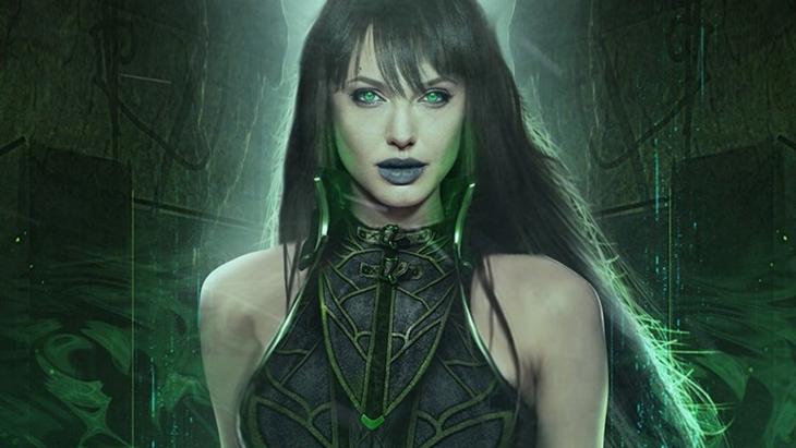 Angelina Jolie sebagai Sersi di The Eternals