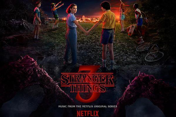 cover serial Stranger Things season 3