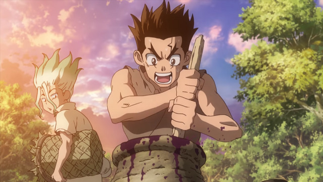 review dr stone