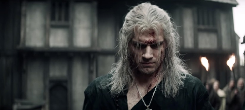 henry cavill dalam serial the witcher