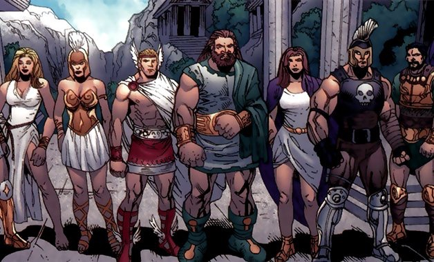 The Eternals di komik Marvel