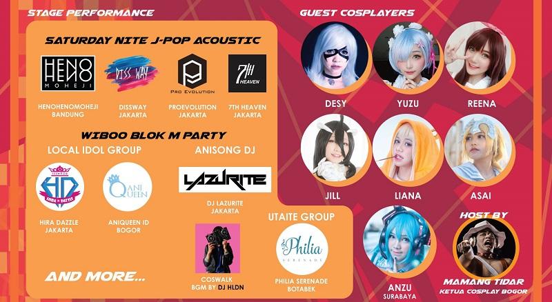 cosplayer di Blok M Square J-Pop Culture Fest 2019