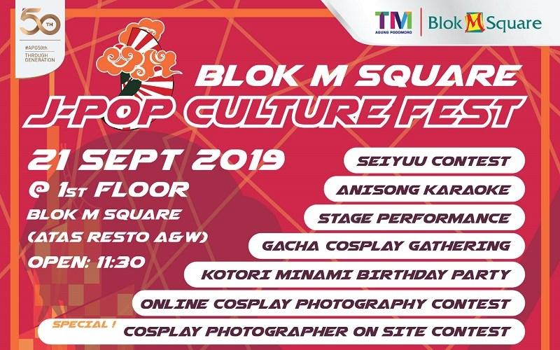 Blok M Square J-Pop Culture Fest 2019