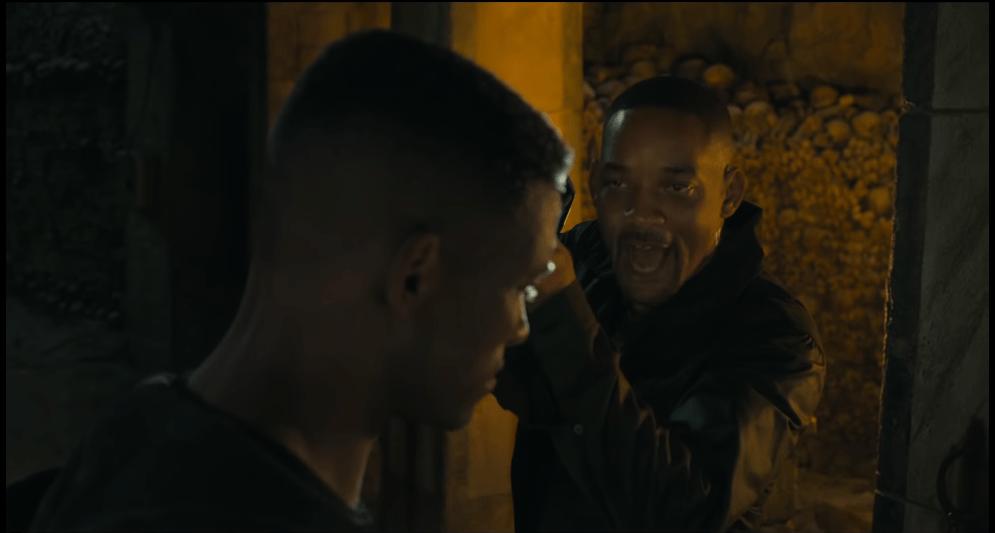 CGI Will Smith melawan Will Smith