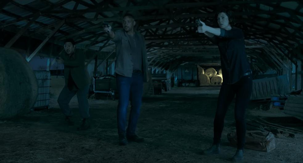 protagonis Will Smith, Mary Elizabeth dan Bennedict Wong