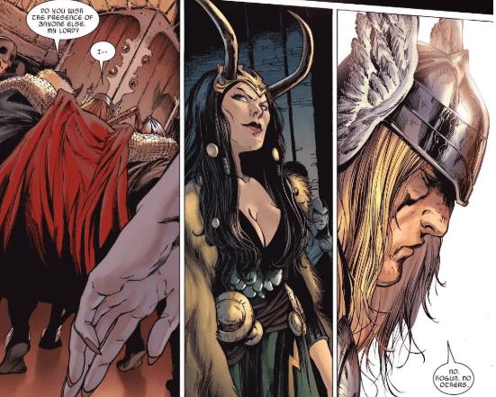 Thor dan kemunculan Loki wanita