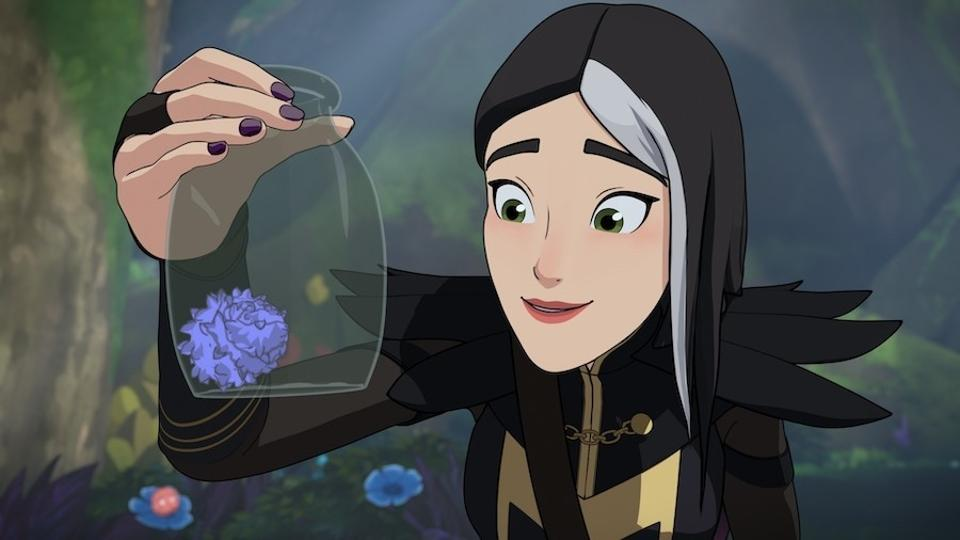 Claudia dalam serial The Dragon Prince