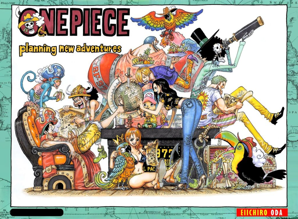 pembahasan one piece 965
