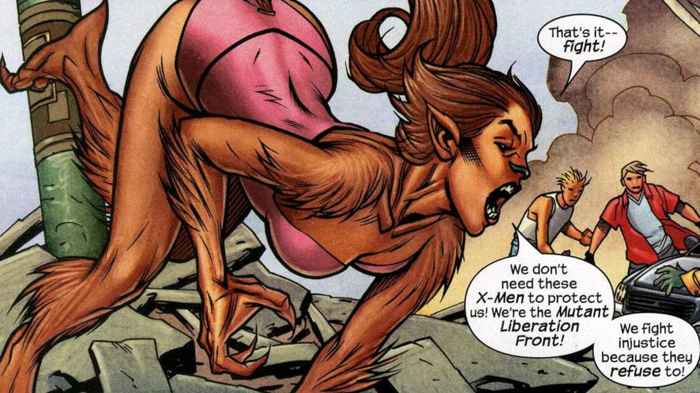 karakter Wolfsbane Marvel