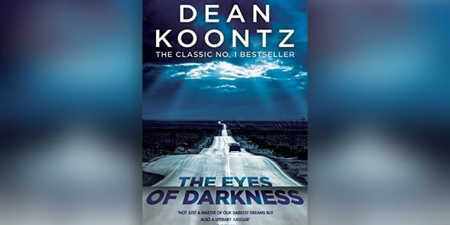 cover novel The Eyes of Darkness